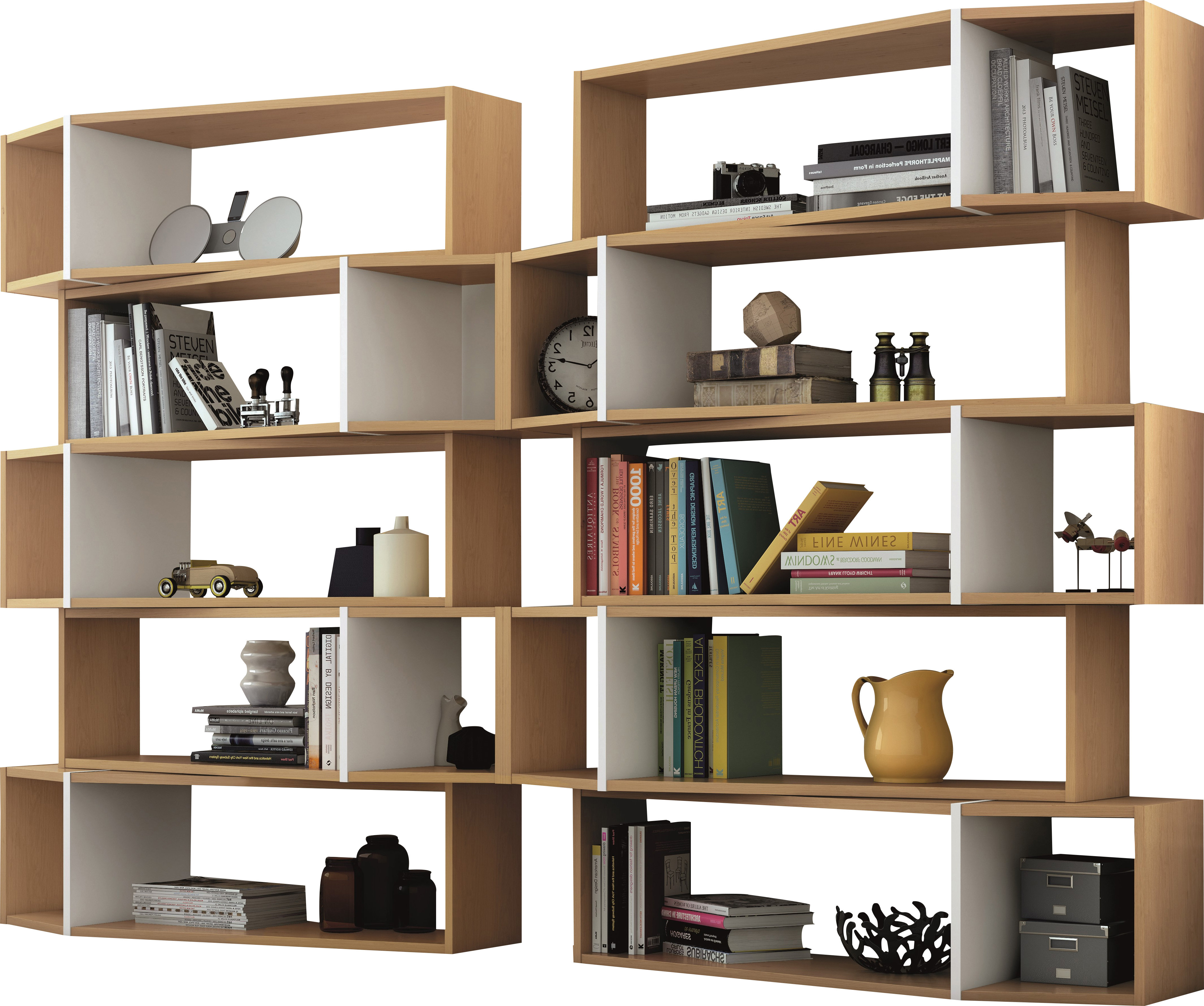 Allmodern Pertaining To Vaccaro Geometric Bookcases (Gallery 20 of 20)