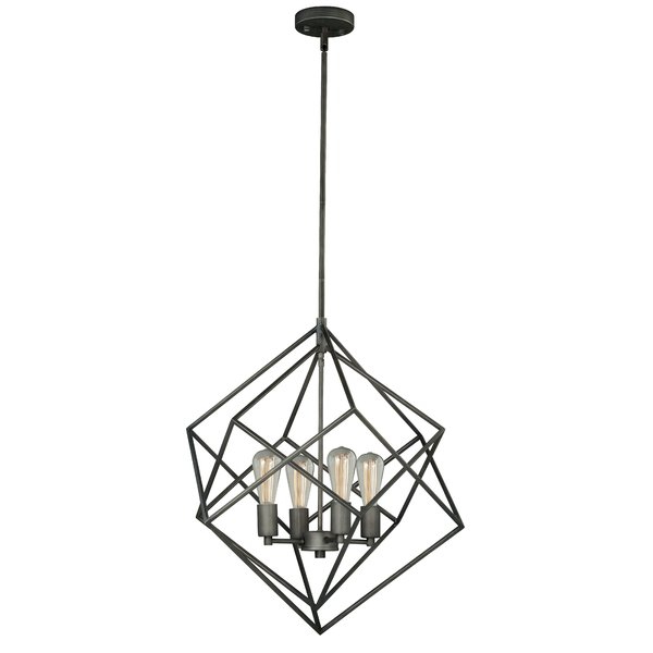 Allmodern With Regard To Preferred Cavanagh 4 Light Geometric Chandeliers (Gallery 22 of 25)