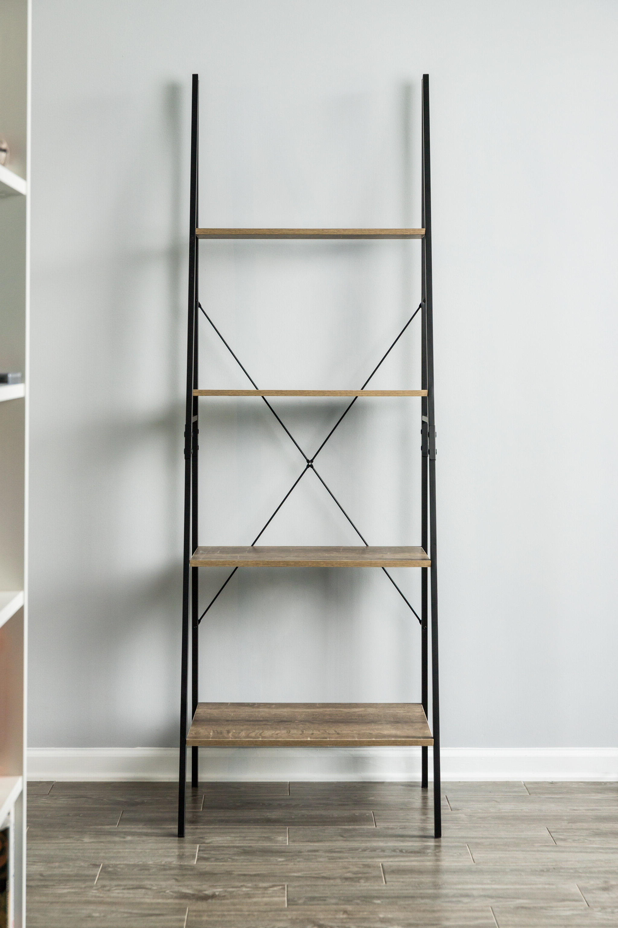 Almanzar Ladder Bookcases Within Fashionable Zipcode Design Senoia A Frame Ladder Bookcase & Reviews (Gallery 12 of 20)