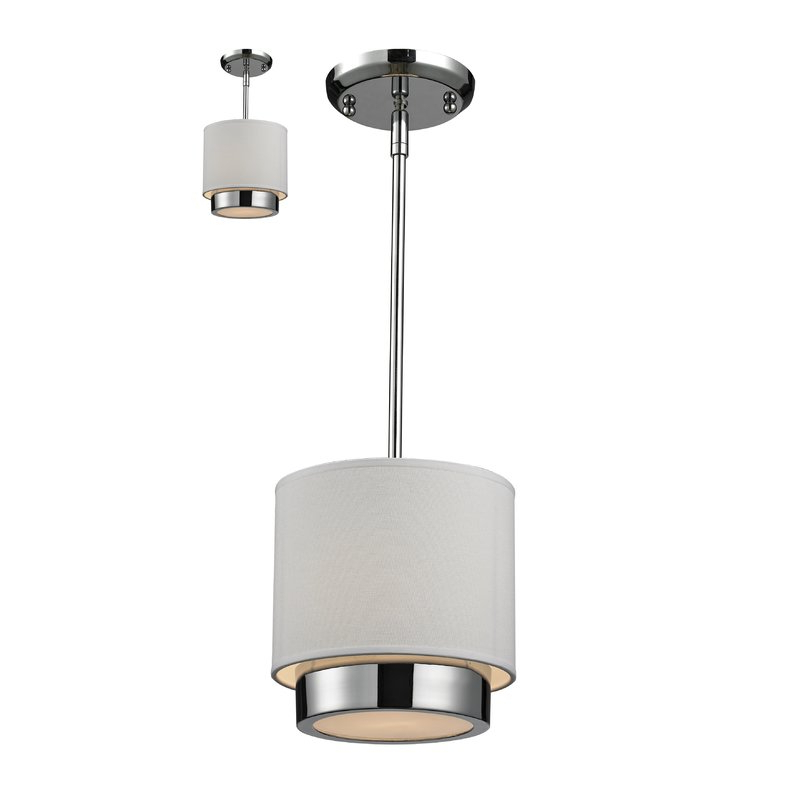 Alvarez 1 Light Drum Pendant Regarding Most Up To Date Alverez 4 Light Drum Chandeliers (View 19 of 25)