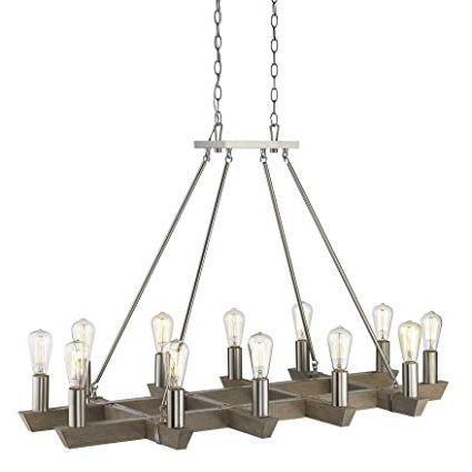 Amazon: Acclaim Lighting In11061sn Finnick 8 Light 48 For Latest Finnick 4 Light Foyer Pendants (View 14 of 25)