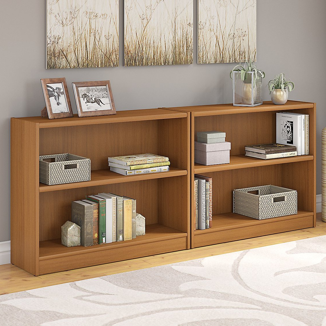 Andover Mills Morrell Standard Bookcase & Reviews (Gallery 4 of 20)