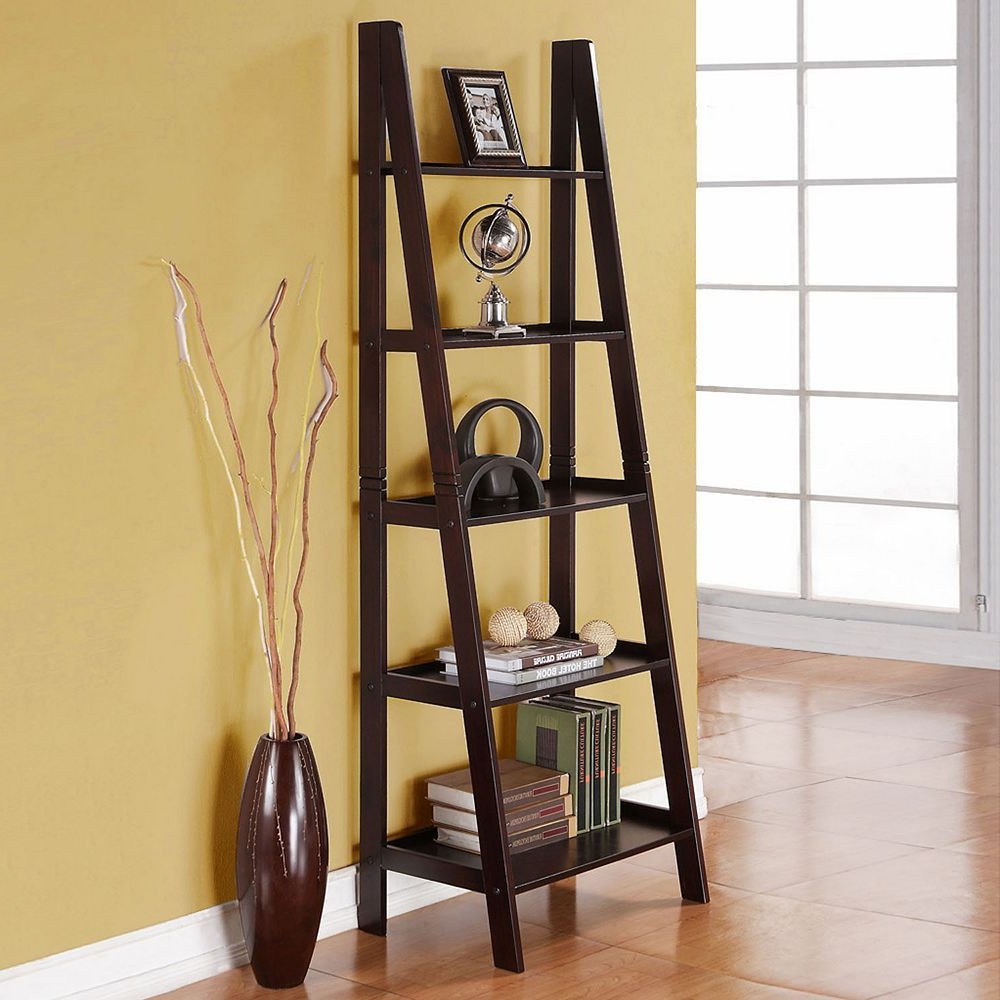 Another Ladder Bookshelf, This Time From Kohl's (View 11 of 20)