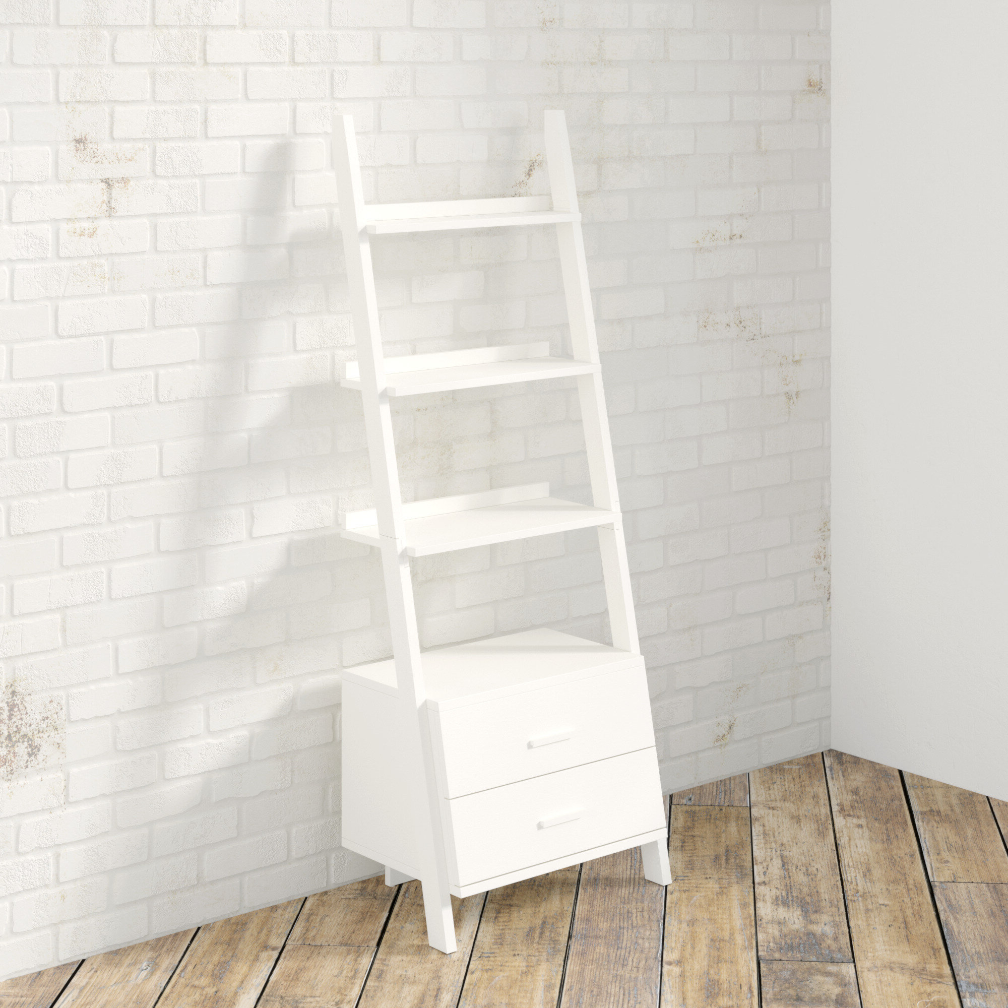 Antoninus Ladder Bookcases Pertaining To Most Recent Antoninus Ladder Bookcase (View 2 of 20)