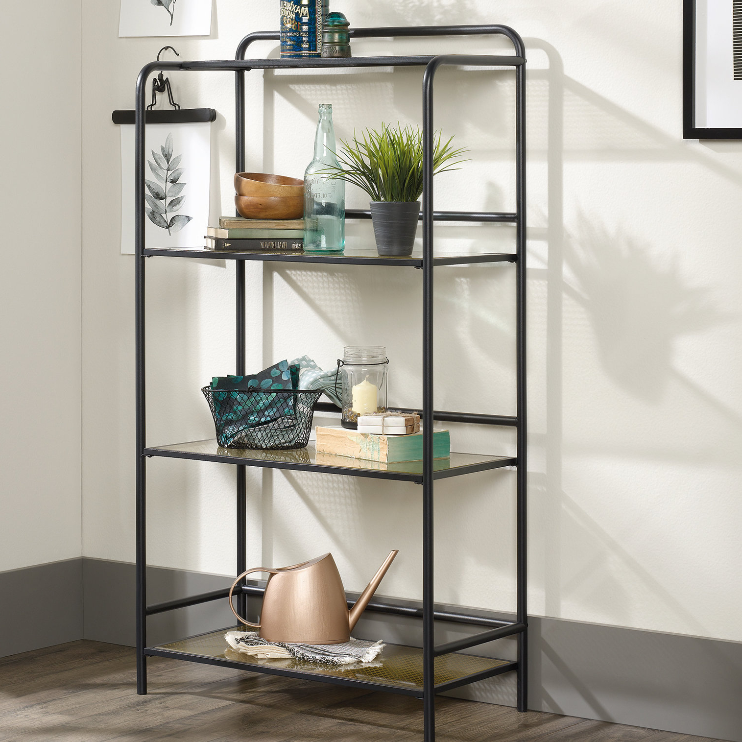 Aptos Etagere Bookcases Pertaining To Preferred Morais Etagere Bookcase (Gallery 17 of 20)