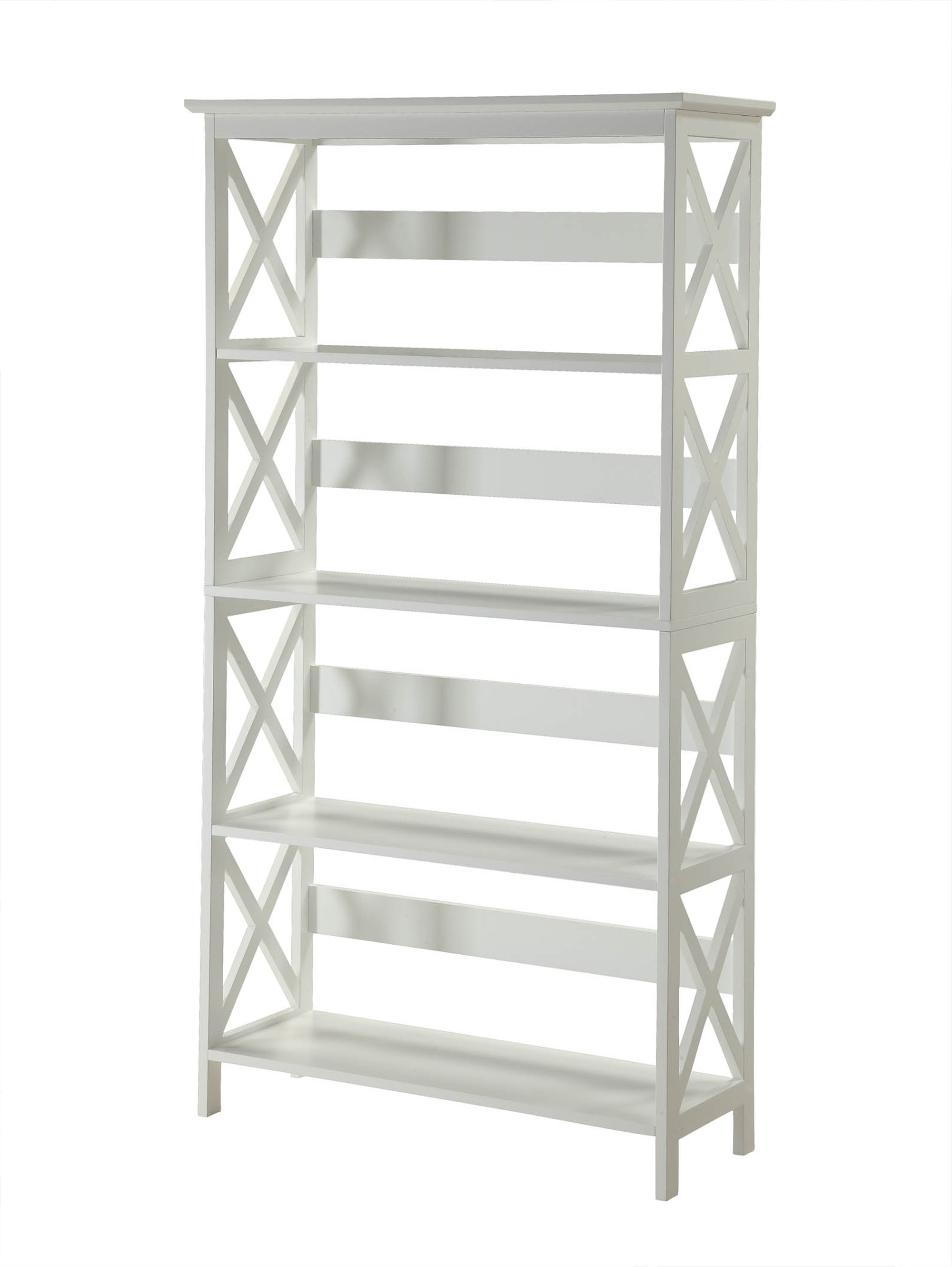 Ardenvor Etagere Standard Bookcases Pertaining To 2019 Stoneford Etagere Bookcase (View 18 of 20)