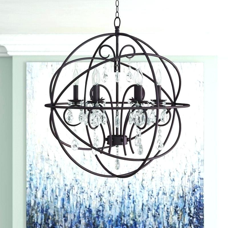 Armillary Sphere Chandelier – Zelmastrahan (View 21 of 25)