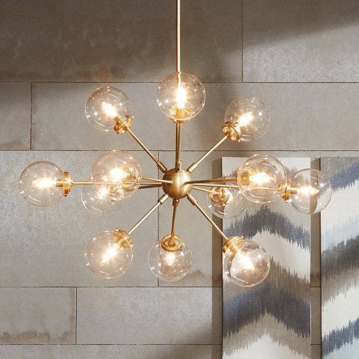Asher 12 Light Sputnik Chandelier Regarding Best And Newest Asher 12 Light Sputnik Chandeliers (Gallery 1 of 25)