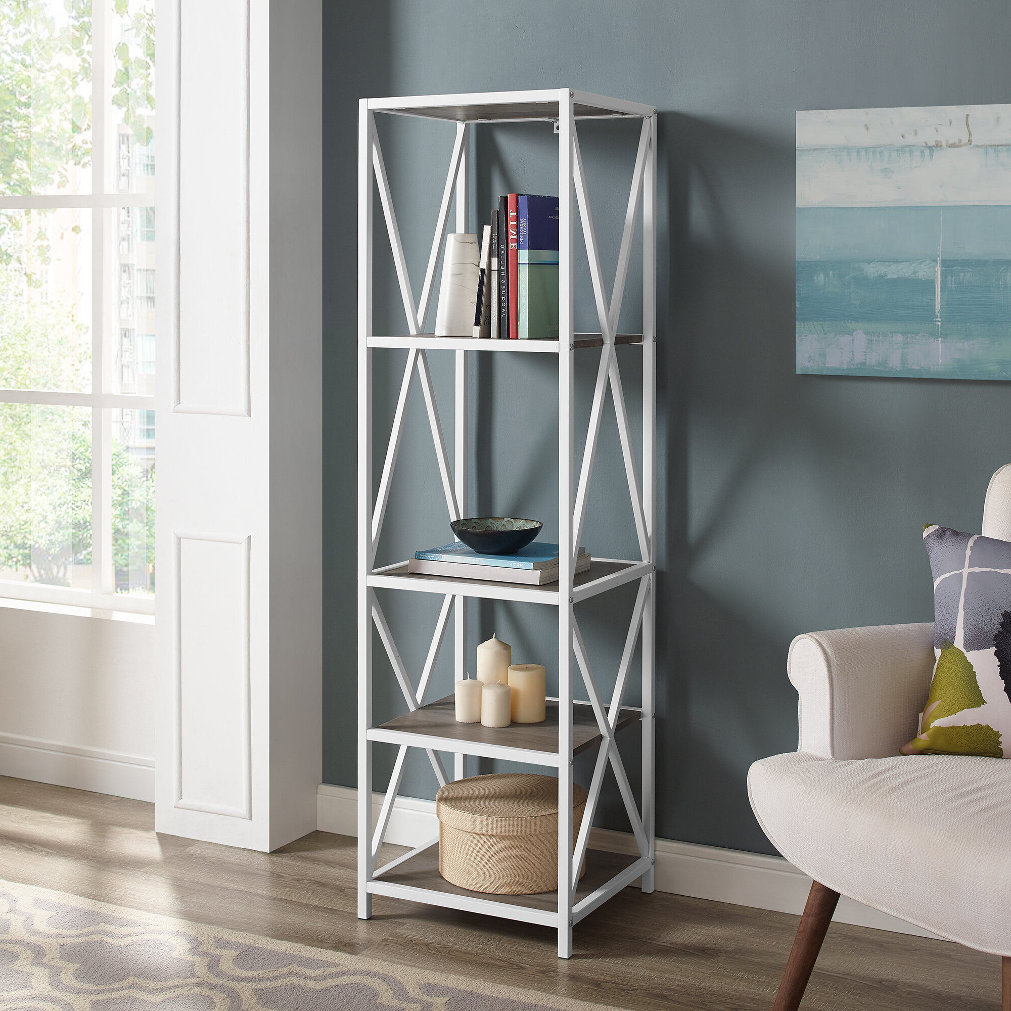 Augustus Etagere Bookcase Intended For Latest Augustus Etagere Bookcases (Gallery 6 of 20)