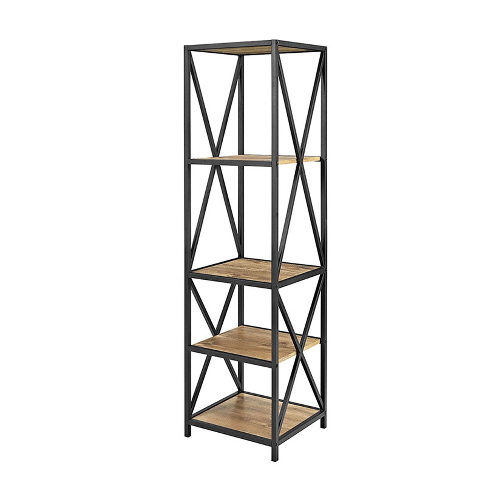 Augustus Etagere Bookcase Intended For Recent Rech 4 Tier Etagere Bookcases (Gallery 15 of 20)