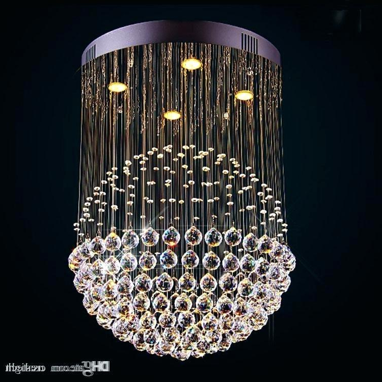 Aurore 4 Light Crystal Chandeliers Pertaining To Popular Cheap Crystal Chandelier – Agendamacher (View 18 of 25)
