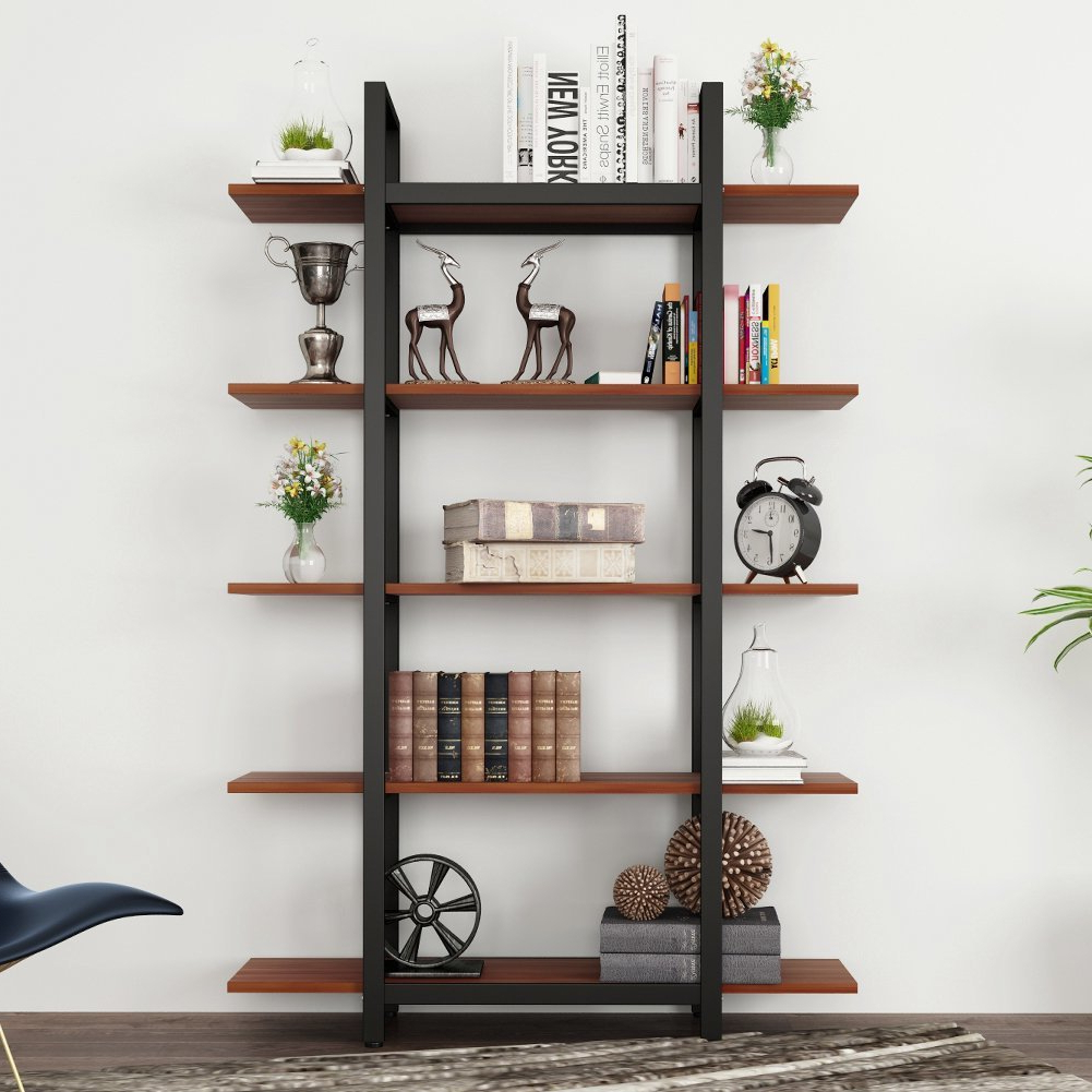 Babbitt Etagere Bookcases Intended For Famous Cardoza Etagere Bookcase (View 3 of 20)