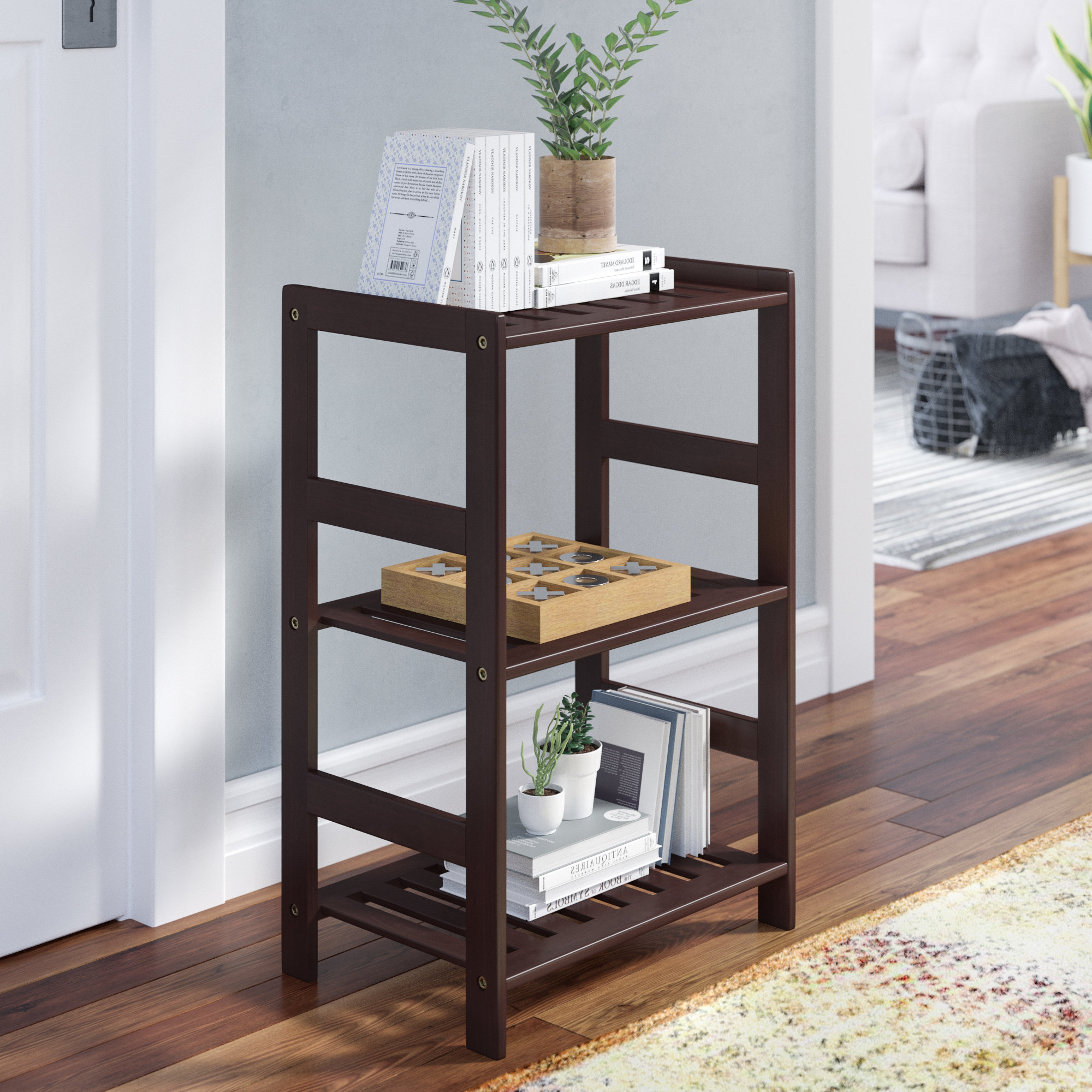 Barkeyville Etagere Bookcase With Regard To Newest Kettner Etagere Bookcases (View 12 of 20)
