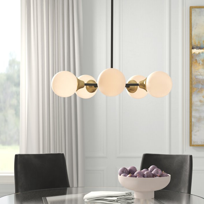 Bautista 5 Light Sputnik Chandelier Within Newest Asher 12 Light Sputnik Chandeliers (View 4 of 25)
