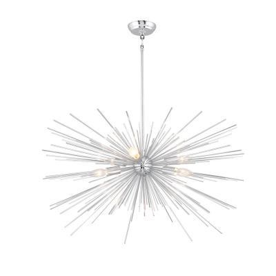 Bautista 5 Light Sputnik Chandeliers With Regard To Favorite Sputnik – Chandeliers – Lighting – The Home Depot (View 8 of 25)