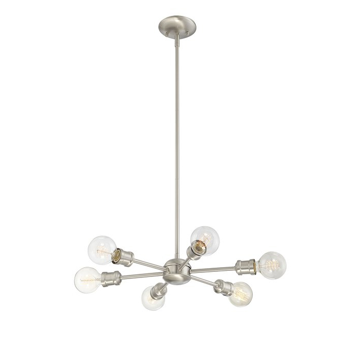Bautista 6 Light Sputnik Chandelier In 2017 Bautista 6 Light Sputnik Chandeliers (View 6 of 25)