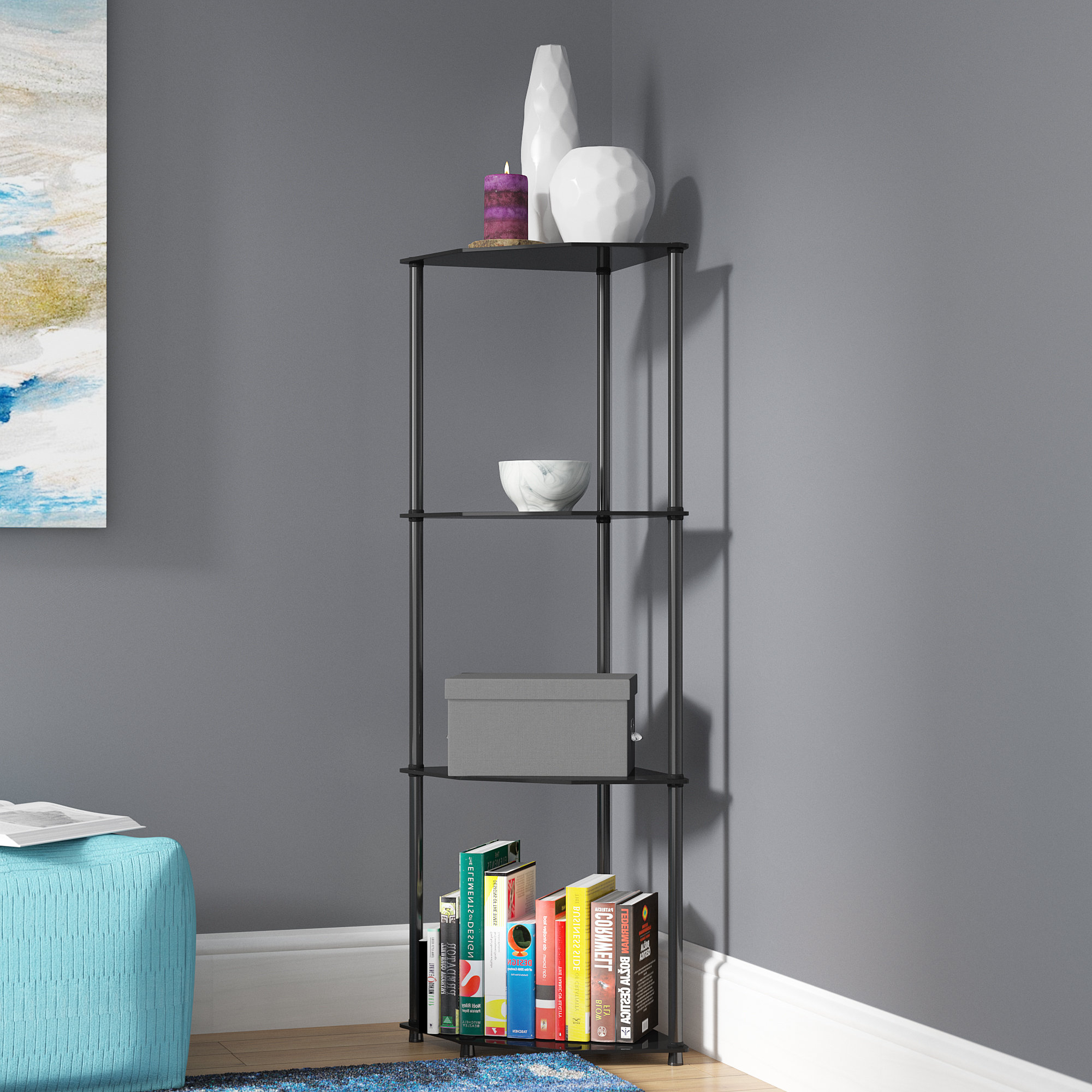 Featured Photo of Beckett Corner Bookcases