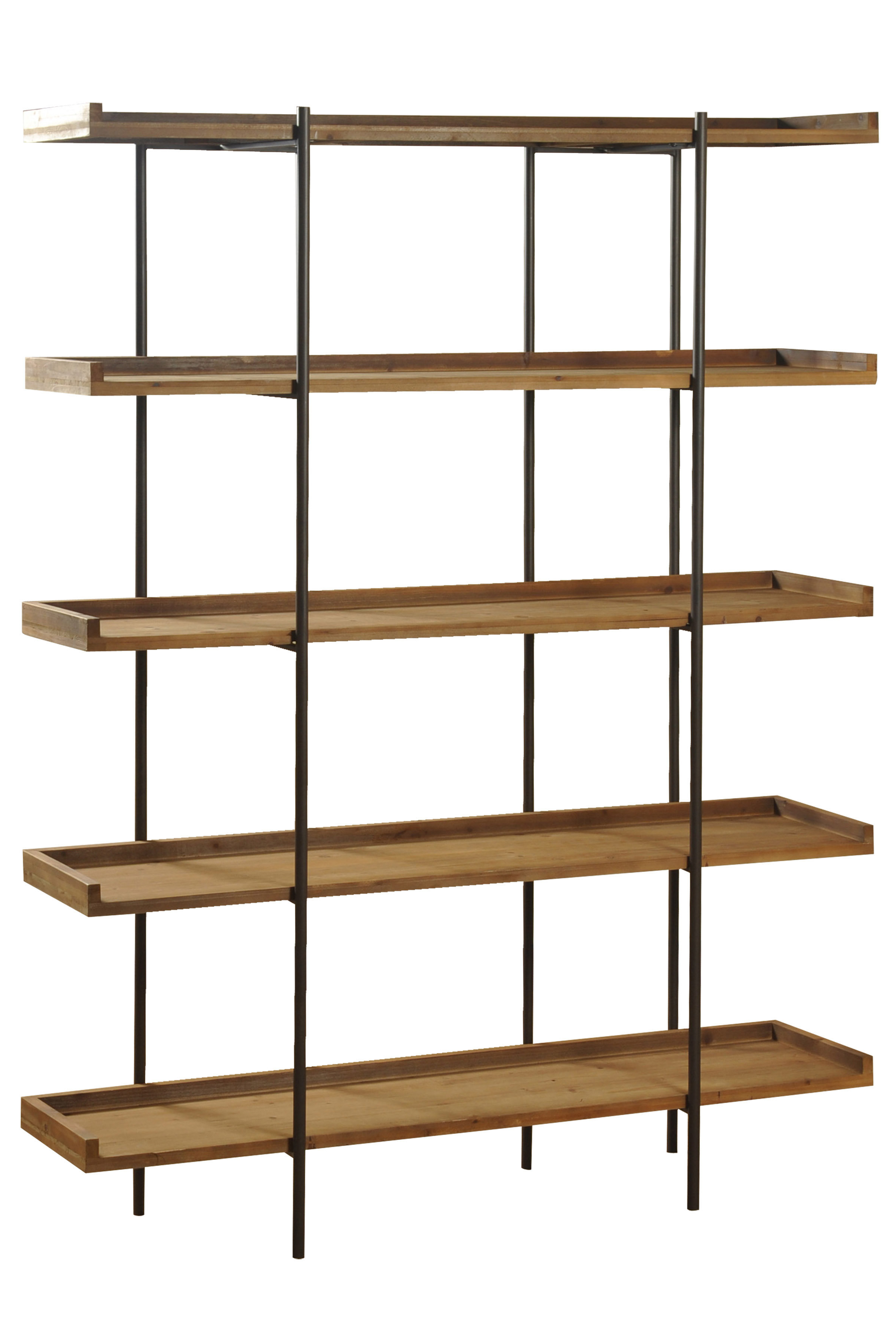 Beckett Etagere Bookcases Pertaining To Most Recent Wanda Etagere Bookcase (View 13 of 20)