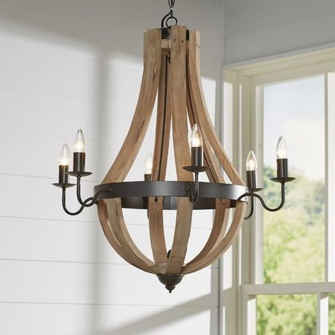 Featured Photo of Phifer 6 Light Empire Chandeliers