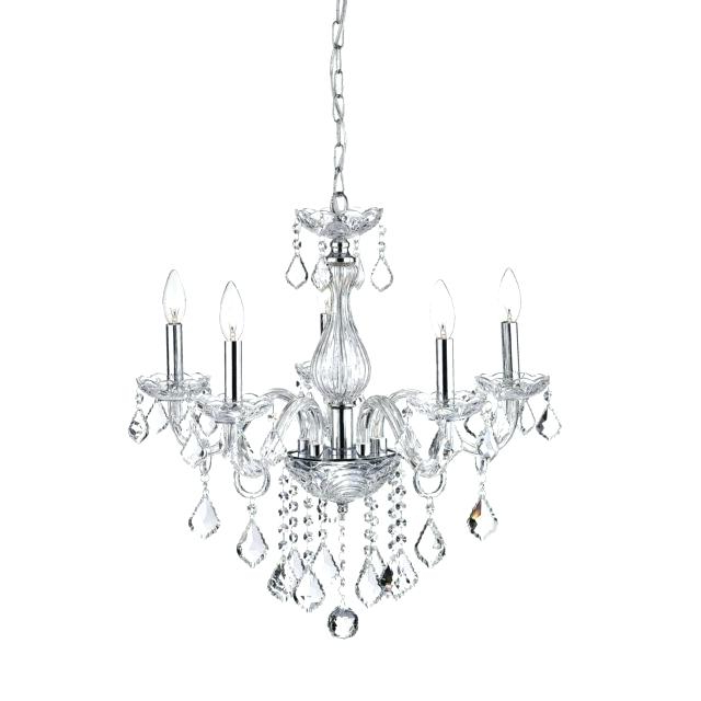 Benedetto 5 Light Crystal Chandeliers Throughout 2017 5 Light Crystal Chandelier (View 6 of 25)