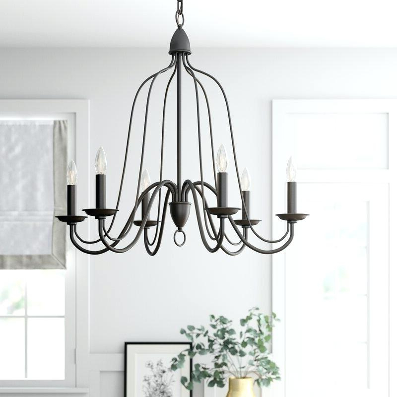 Bennington 6 Light Candle Style Chandeliers Inside Preferred 6 Light Candle Style Chandelier Bennington – Pulpitis (View 11 of 25)