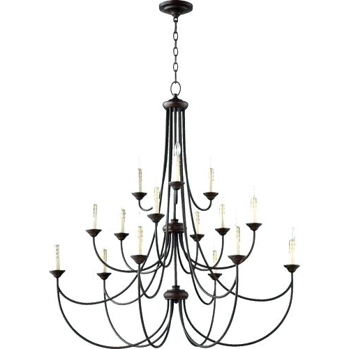 Bennington Candle Style Chandelier – Realinsight (View 8 of 25)