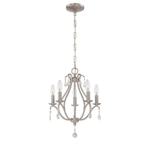 Berger 5 Light Candle Style Chandeliers For Well Known Found It At Wayfair.ca – 5 Light Mini Chandelier (Gallery 16 of 25)