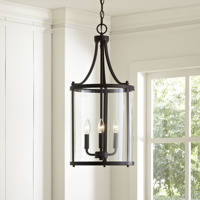 Best And Newest 3 Light Lantern Cylinder Pendants Inside 3 Light Lantern Cylinder Pendant (View 5 of 25)