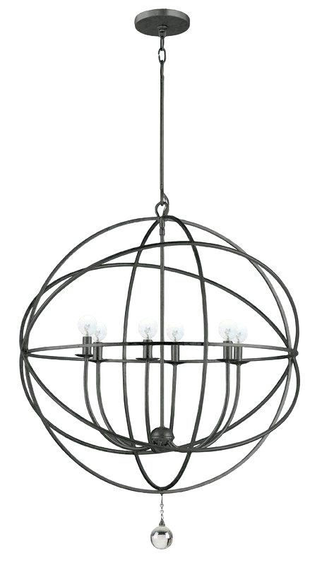 Best And Newest 6 Light Globe Chandelier – Luwalcott.co With Regard To Joon 6 Light Globe Chandeliers (Gallery 11 of 25)