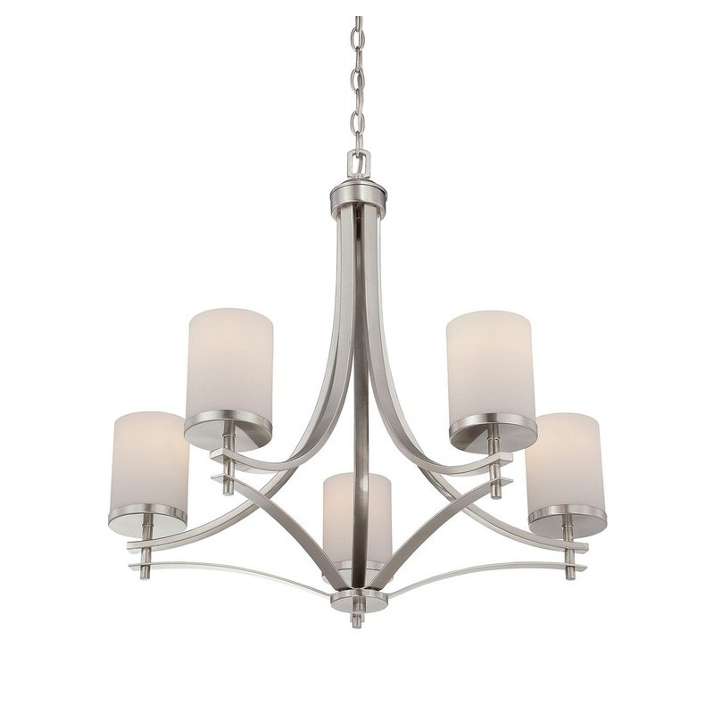 Best And Newest Agnes 5 Light Shaded Chandelier With Regard To Suki 5 Light Shaded Chandeliers (View 10 of 25)