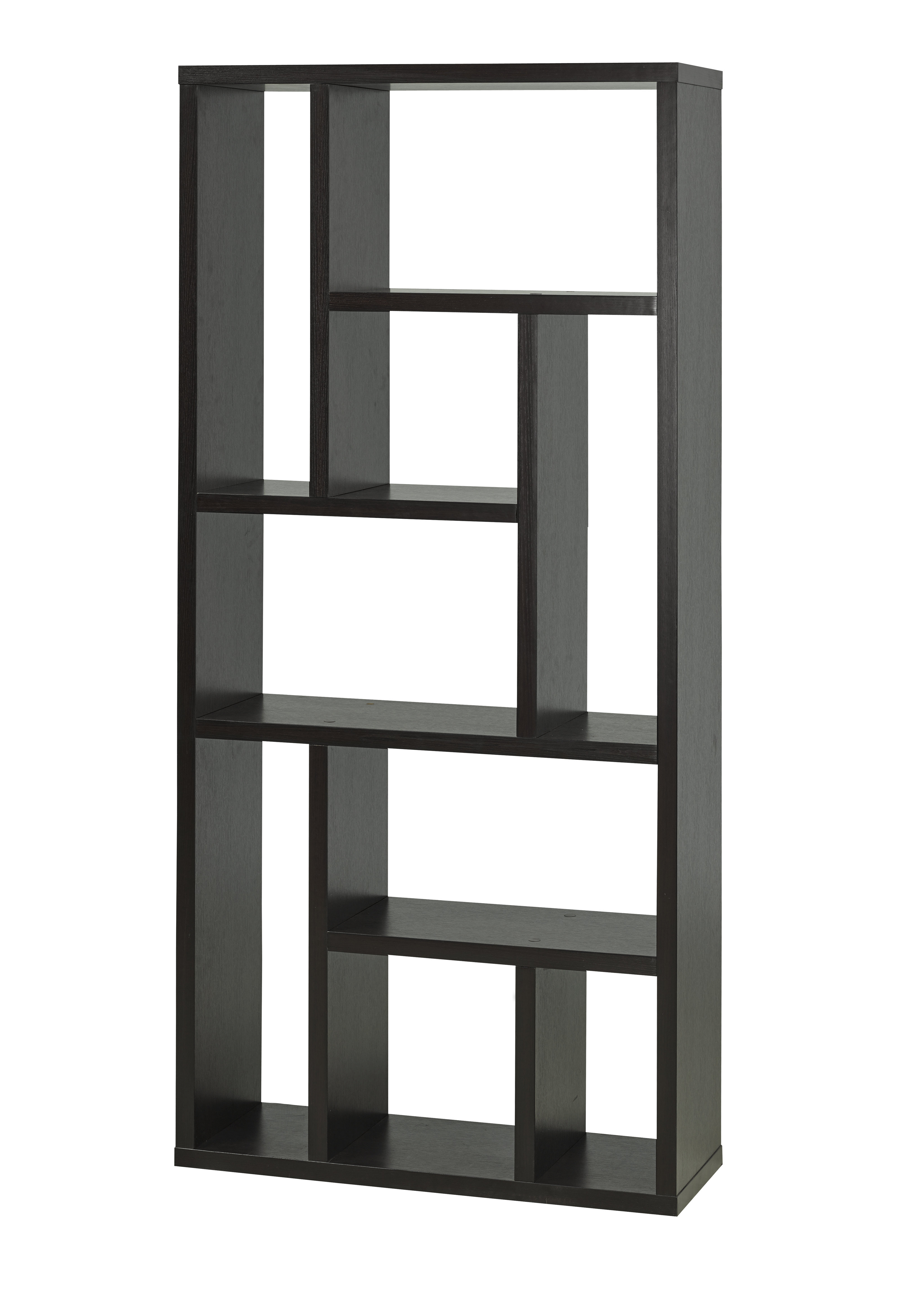 Best And Newest Bauch Multi Tier Geometric Bookcase Throughout Vaccaro Geometric Bookcases (Gallery 10 of 20)