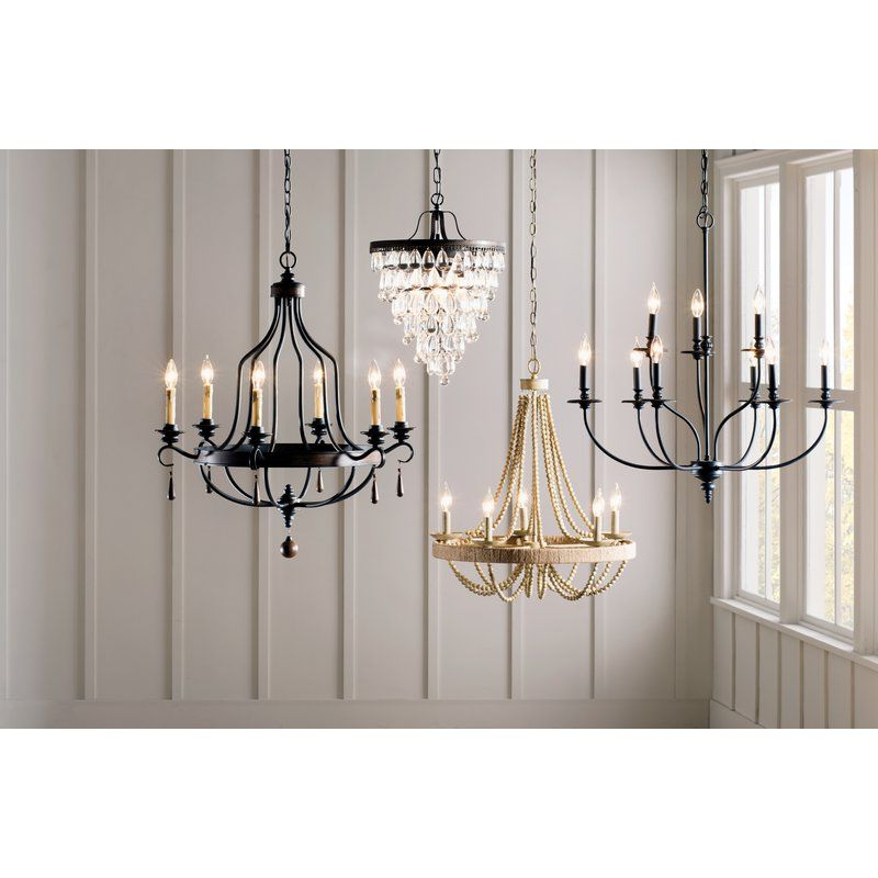 Best And Newest Bouchette Traditional 6 Light Candle Style Chandeliers Throughout Giverny 9 Light Candle Style Chandelier In  (View 4 of 25)