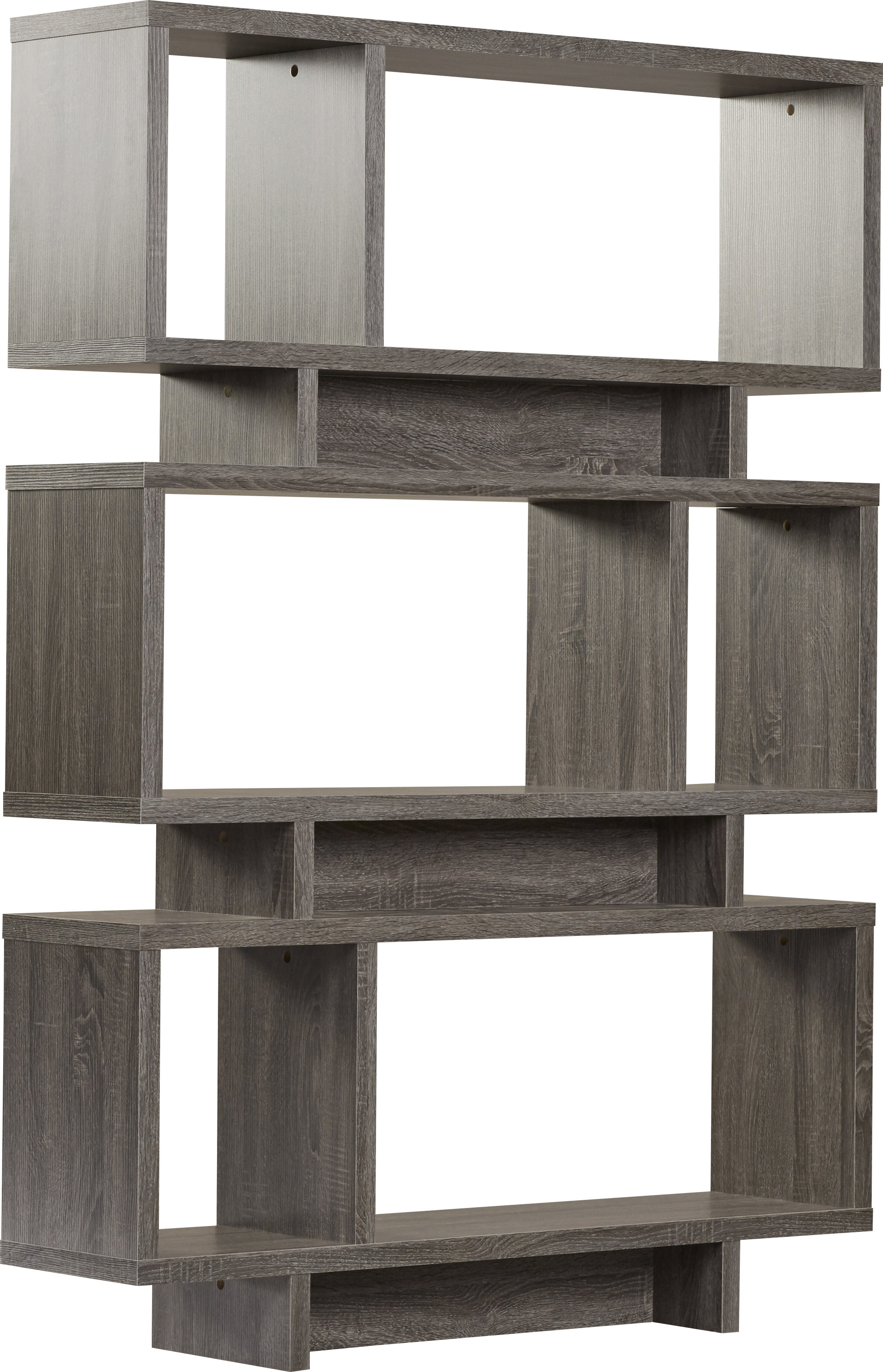 Best And Newest Carnageeragh Geometric Bookcases Regarding Cullison Standard Bookcase (Gallery 3 of 20)