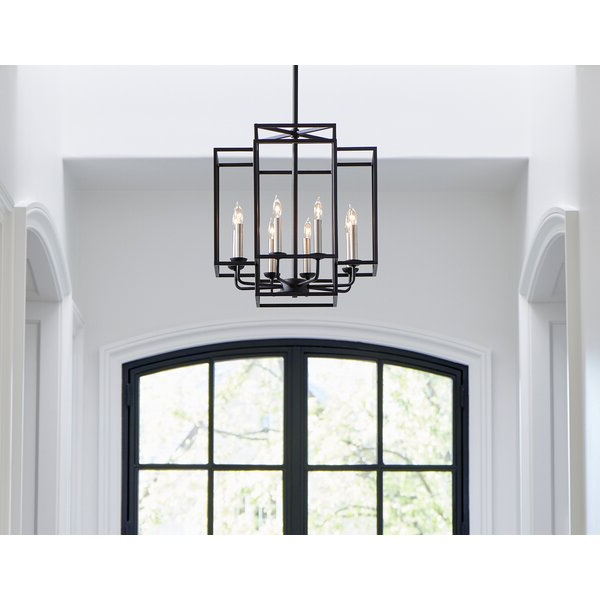 Best And Newest Freeburg 4 Light Lantern Square / Rectangle Pendants Inside Ine 8 Light Lantern Pendant (Gallery 19 of 25)