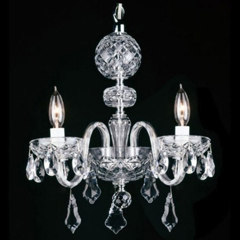 Best And Newest How To Clean Waterford Crystal Chandeliers With Clea 3 Light Crystal Chandeliers (Gallery 13 of 25)