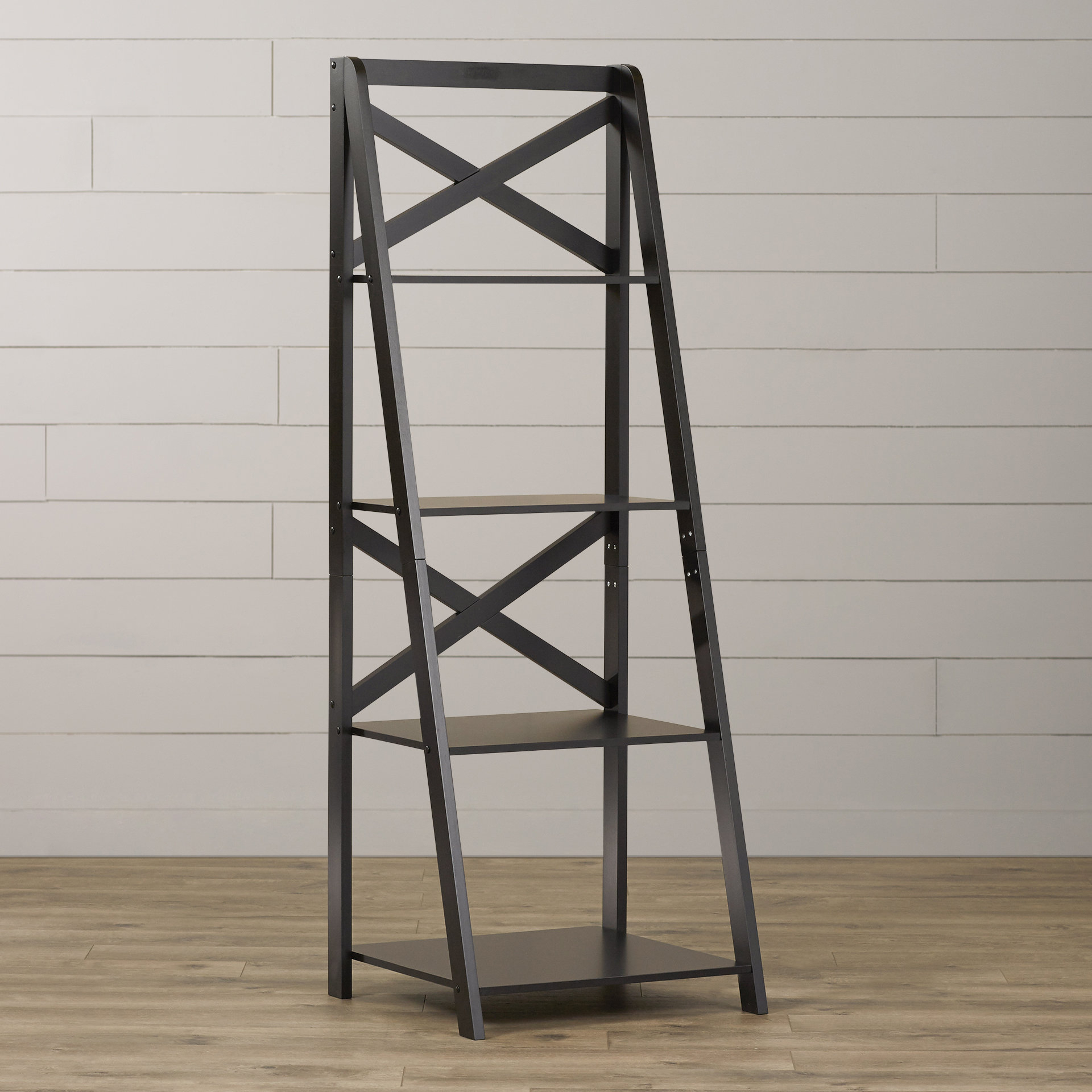 Best And Newest Kaitlyn Ladder Bookcases Within Laurel Foundry Modern Farmhouse Kaitlyn Ladder Bookcase (Gallery 7 of 20)