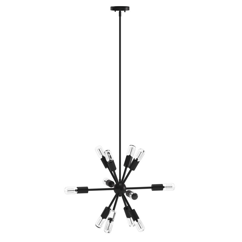 Best And Newest Kendall 12 Light Sputnik Chandelier With Regard To Vroman 12 Light Sputnik Chandeliers (Gallery 18 of 25)