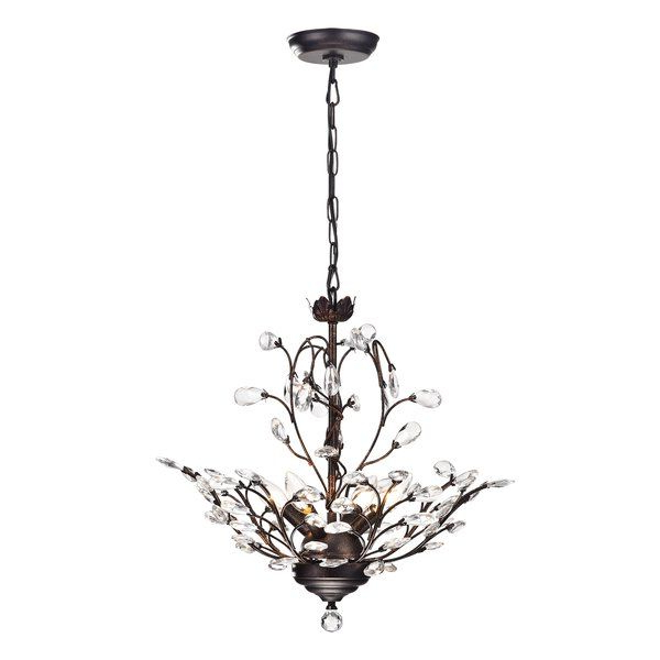 Best And Newest Leatrice 4 Light Novelty Chandelier In  (View 11 of 25)