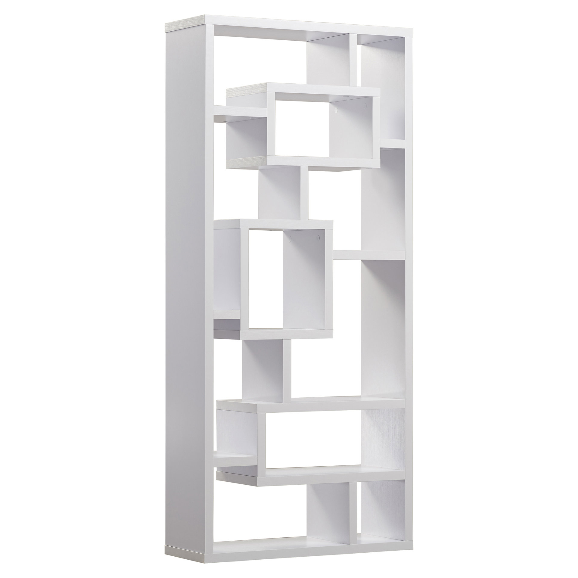 Best And Newest Skaggs Geometric Bookcases Regarding Cleisthenes Geometric Bookcase (View 2 of 20)