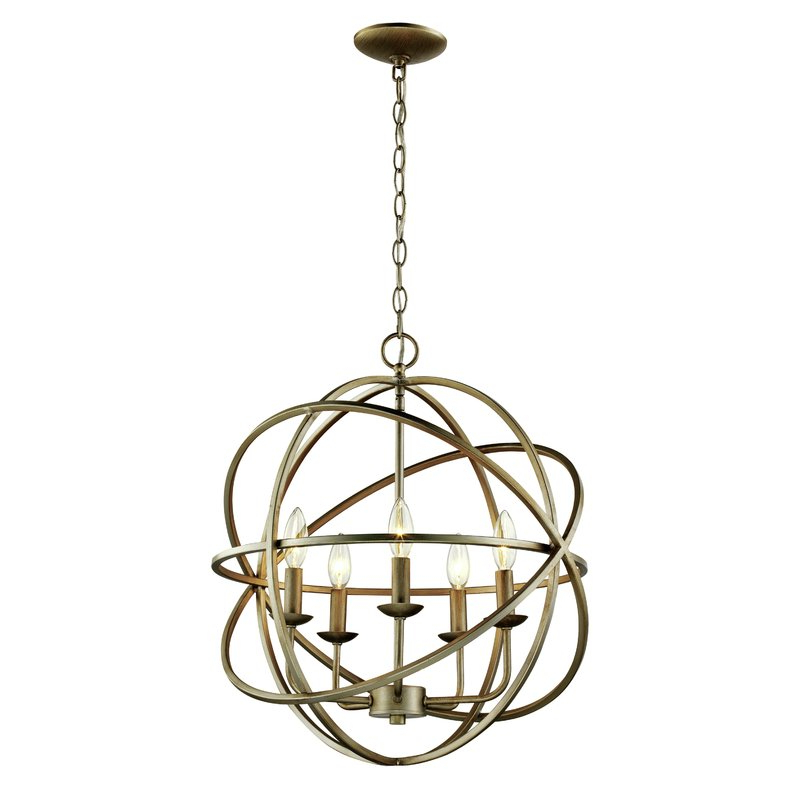 Best And Newest Waldron 5 Light Globe Chandeliers For Hankinson 5 Light Globe Chandelier (View 2 of 25)
