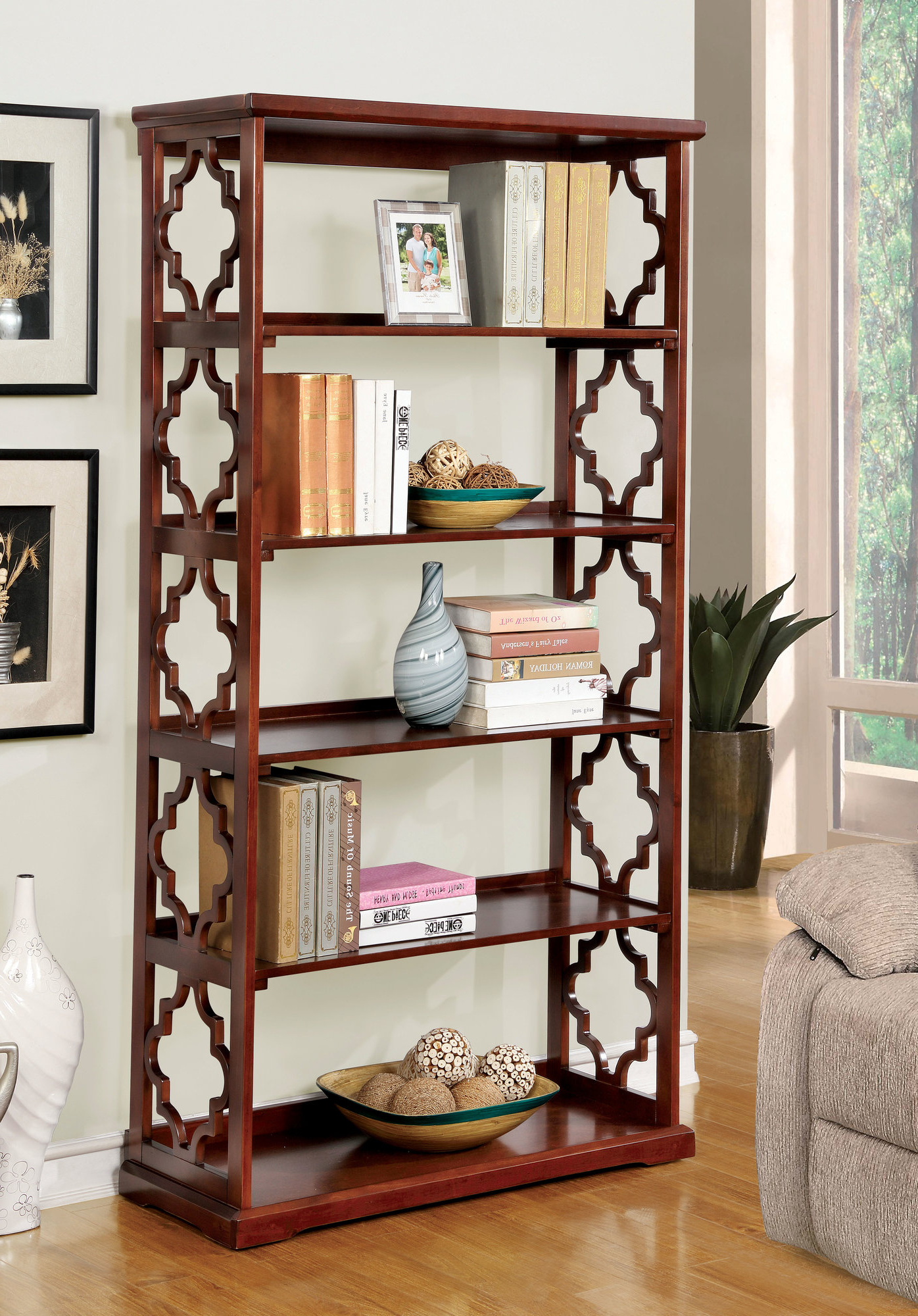 Best And Newest Woodcrest Etagere Bookcases For Details About Hokku Designs Etagere Bookcase (View 3 of 20)