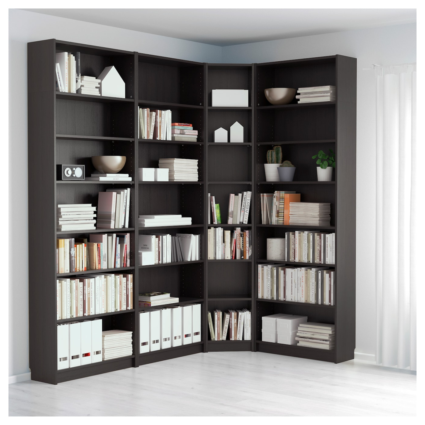 Billy – Bookcase, White With Regard To Most Current Tisha Corner Bookcases (Gallery 10 of 20)