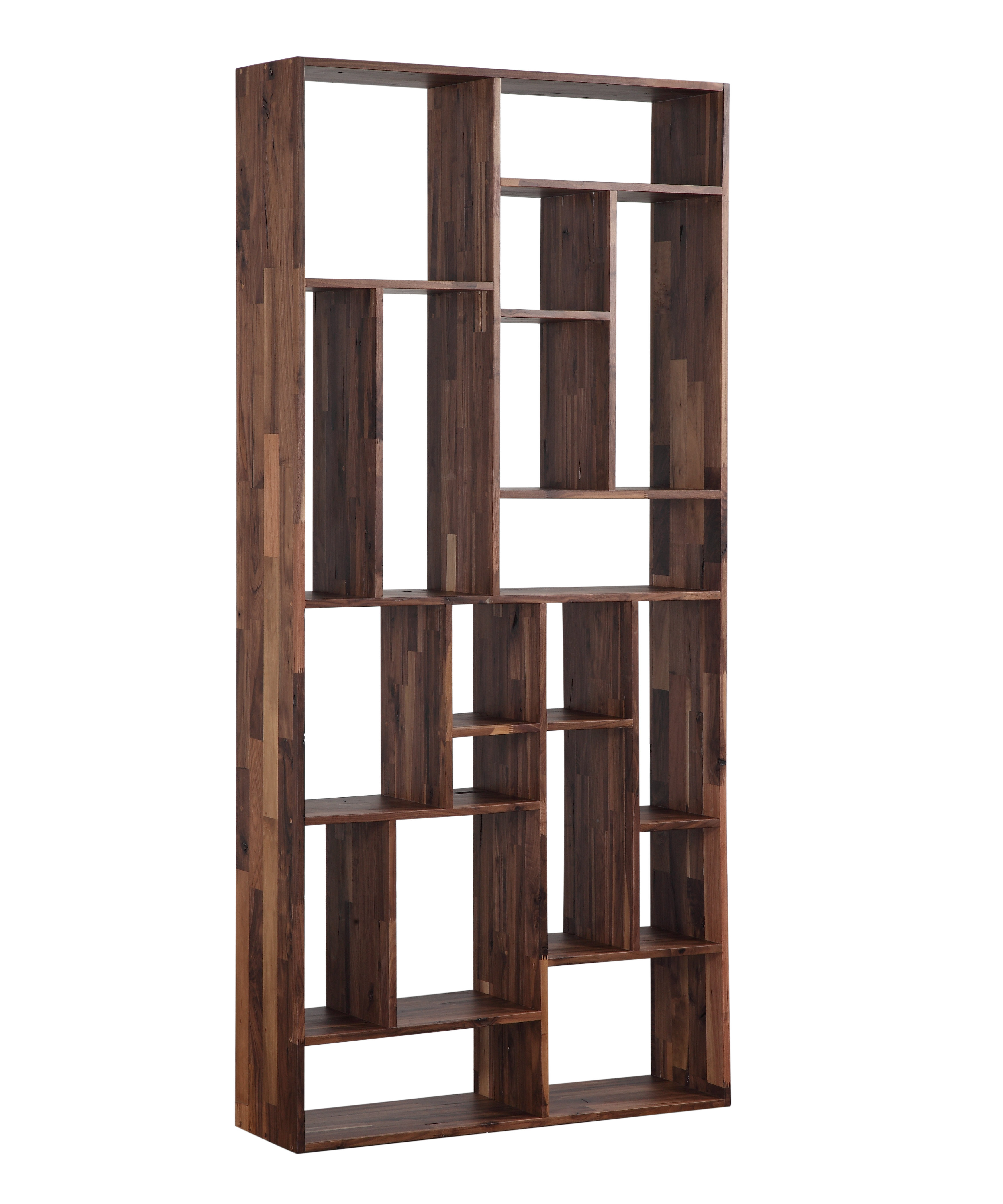 Blevens Geometric Bookcase Throughout Best And Newest Vaccaro Geometric Bookcases (Gallery 7 of 20)