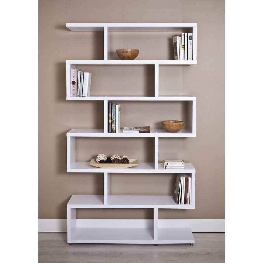 Bookcase, Global Office Within Carnageeragh Geometric Bookcases (Gallery 11 of 20)