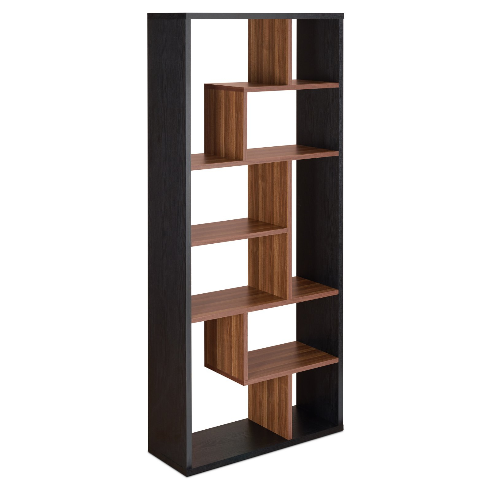 Bostic Geometric Bookcases Inside Fashionable Acme Furniture Chas Cube Bookcase (Gallery 14 of 20)