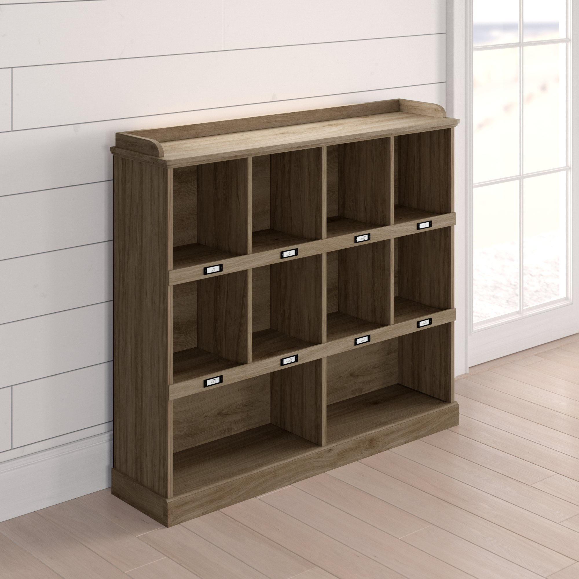 Bowerbank Standard Bookcase Within Recent Classroom Cubby Standard Bookcases (Gallery 14 of 20)
