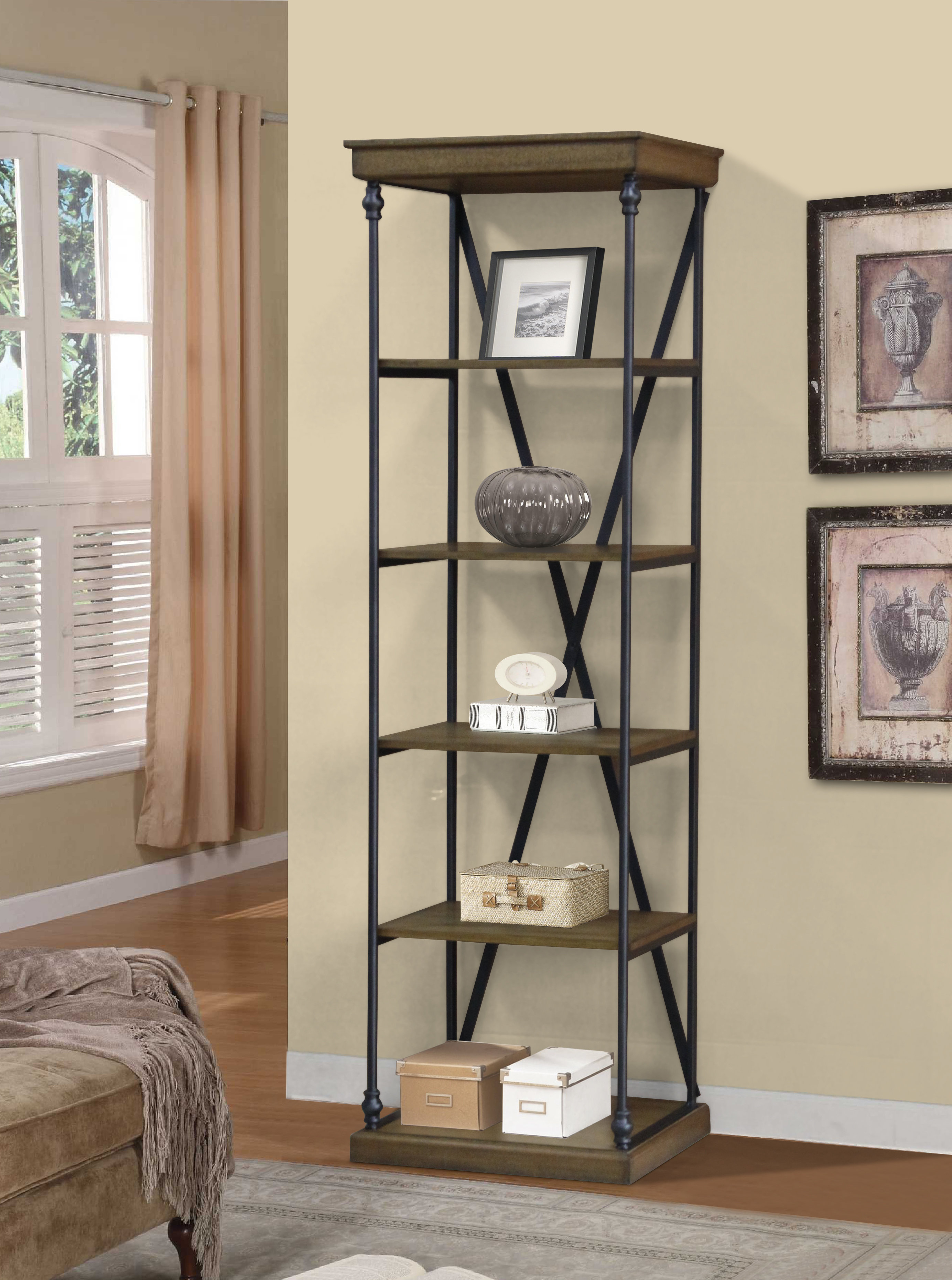 Bowman Etagere Bookcases Throughout Most Recently Released Marvale Etagere Bookcase (View 5 of 20)