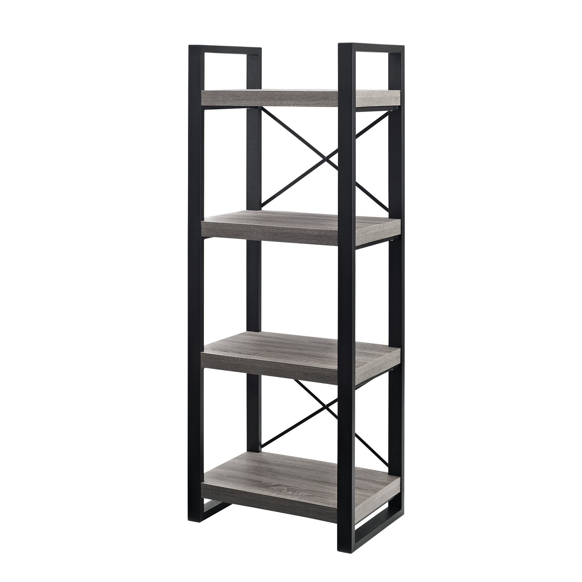 Bowman Etagere Bookcases With Regard To Latest Rossman Etagere Bookcase (View 13 of 20)