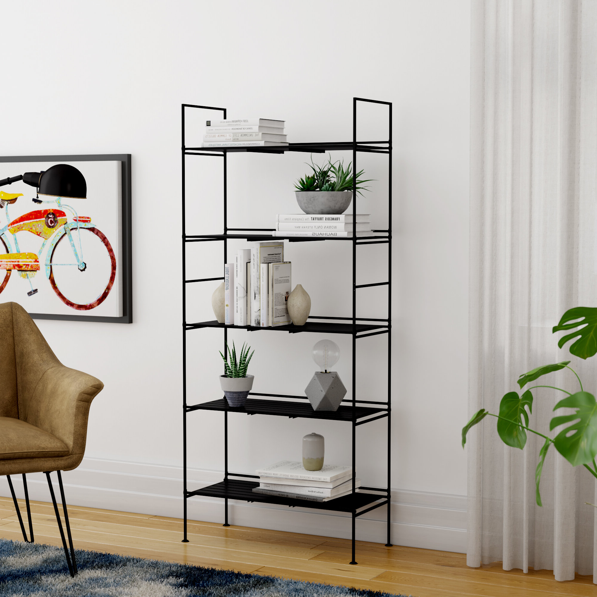 Bowman Etagere Bookcases Within Recent Mariano Etagere Bookcase (Gallery 4 of 20)