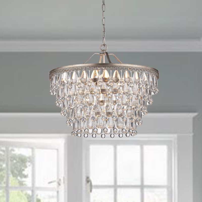 Bramers 6 Light Novelty Chandelier With Well Known Bramers 6 Light Novelty Chandeliers (Gallery 1 of 25)
